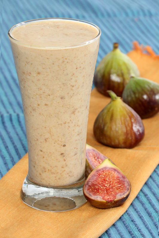 Fig and Port milkshake